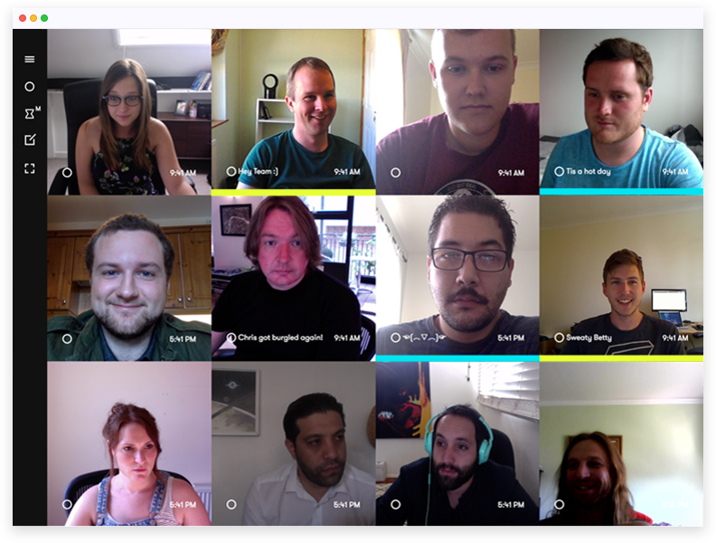 Sneek video conference