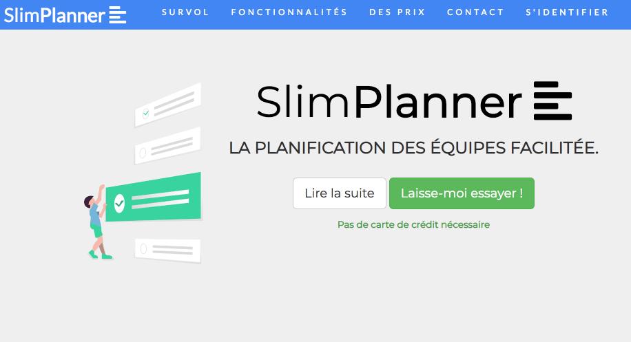 Slimplanner