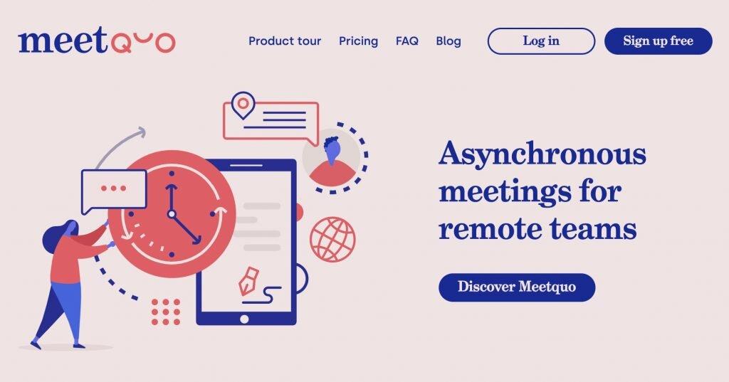réunions asynchrones